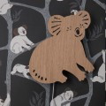 Tapeta Koala - Dark Green - ferm Living