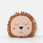 Poduszka Safari Lion Rose- Lew - ferm Living