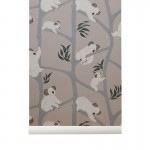 Tapeta Koala - Grey - ferm Living