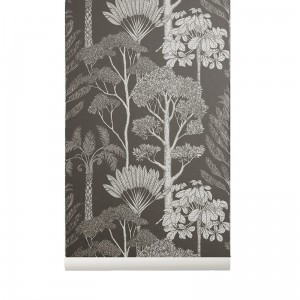 Tapeta Drzewa - Trees Brown - Katie Scott - ferm Living