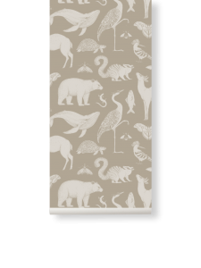 Tapeta Zwierzęta - Animals Sand - Katie Scott - ferm Living