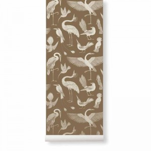 Tapeta Birds Sugar Kelp - Ptaki - Katie Scott - ferm Living