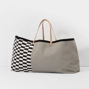 Torba Herman Big Bag,  szara - Grey - ferm Living