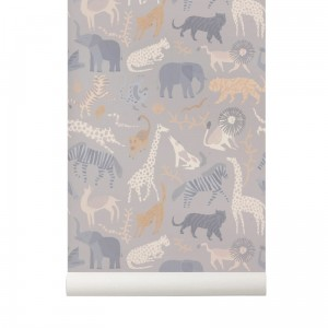 Tapeta safari - ferm Living