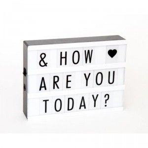 Light Box A4 - Lampka - OMM Design