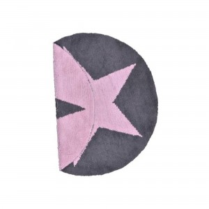 Dywan Reversible Star Pink - Ø140cm - Lorena Canals